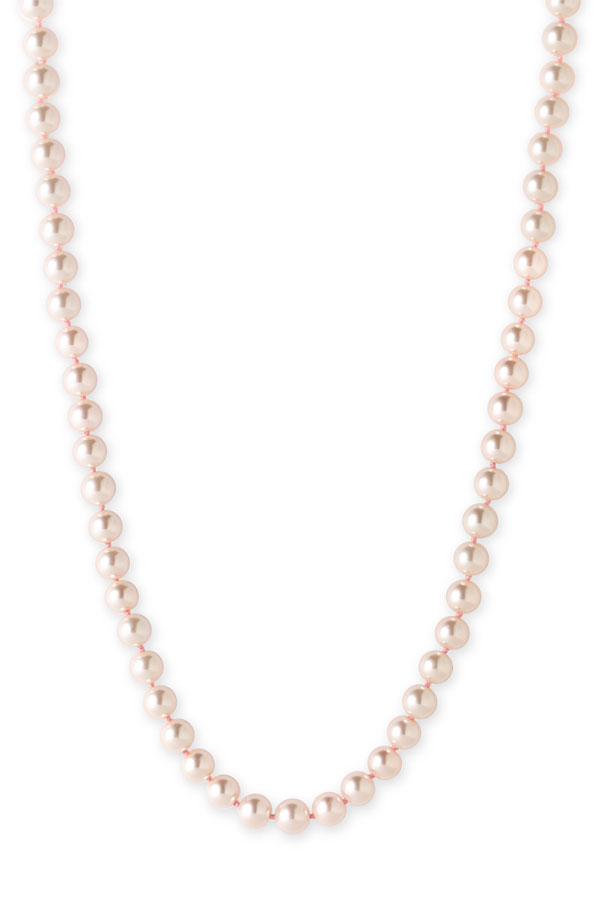 lauren ralph lauren long pink pearls