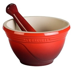 le cruset mortar and pestle