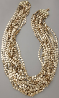 lee angel 18 strand necklace