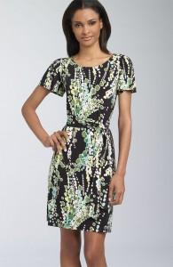 lily-print-jersey-dress