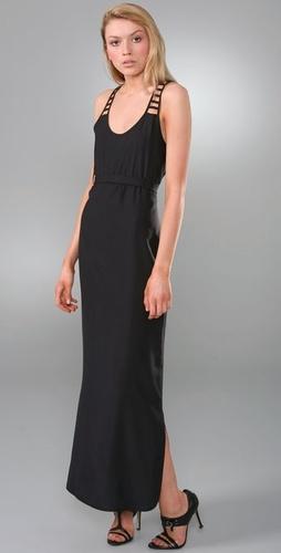 loeffler randall black ladder dress