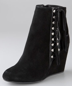 madison harding lita wedge booties