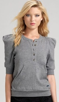 marc by marc jacobs strong shoulder knit top