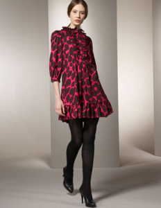 marc by marc jacobs wild flower print dress