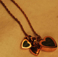 marcos jewelry copper heart pendant