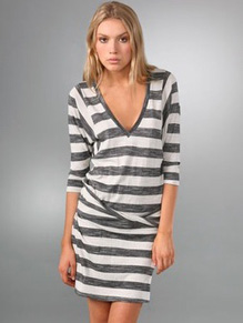 mason by michelle mason striped dress
