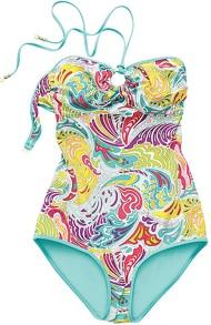matthew williamson h&m bathing suit