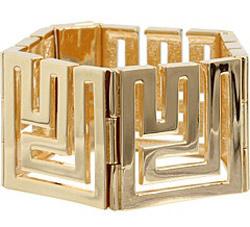 maze gold cuff