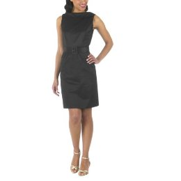 merona belted party dress