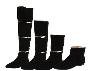 Meet The Michael Kors Frannie Convertible Boot: Four Pairs In One