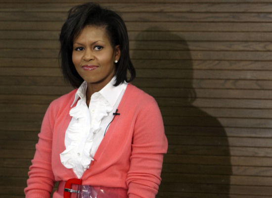 michelle-obama-wears-pink-cardigan