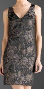 mss p floral jacquard dress