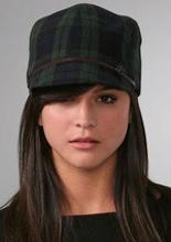 muffy plaid cap