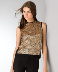 nanette lepore sequin top