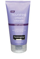 neutrogena night calming cleanser