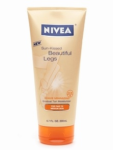 nivea sun kissed beautiful legs