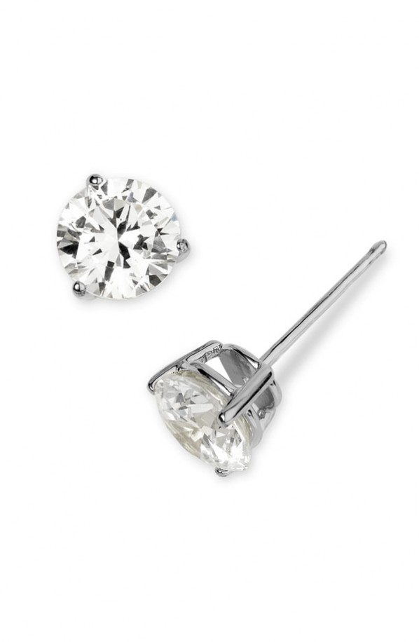 Fake Diamond Stud Earrings For Men