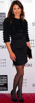 olga kurylenko british fashion awards