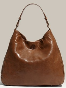 Tory Burch 'Dena' Leather Hobo