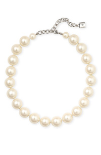 Nordstrom pearl strand necklace