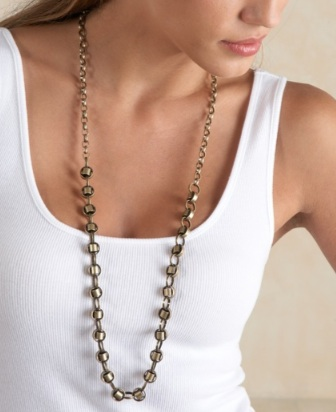 pipe chain necklace
