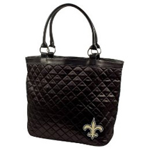quilted saints tote