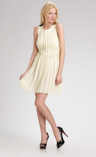 rag & bone pleated dress