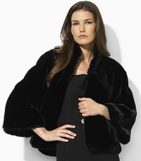 ralph lauren faux fur jacket