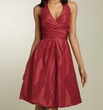 Donna Ricco Taffeta Dress