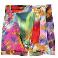 rosa cha tie die shorts