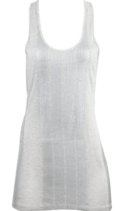 charlotte russe sequin panel tank