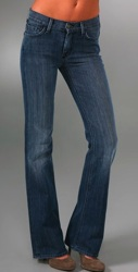 seven for all mankind high waist bootcut jeans
