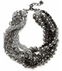 silent film necklace