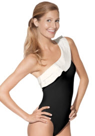 spanx one shoulder one piece
