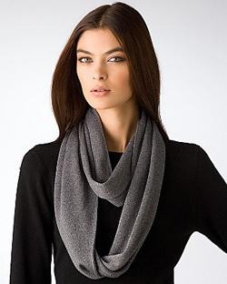 echo sparkle infinity scarf