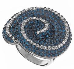 stone swirl ring