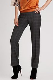 tahari plaid pants