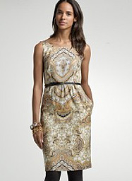 J. Crew terra dress