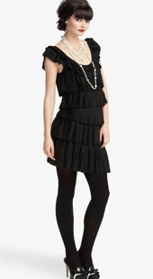 tier ruffle dress