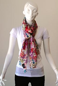 tolani floral print scarf