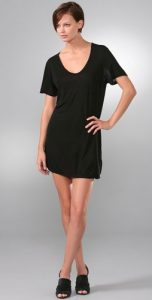 t by alexander wang classic short sleeve dress