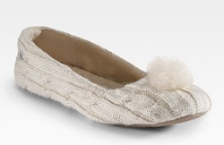 ugg dakota knit slippers