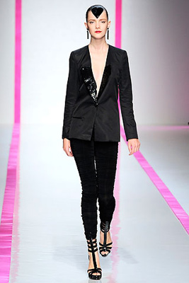 ungaro's ungainly blazer and leggings