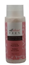 upper canada all about feet peppermint foot scrub
