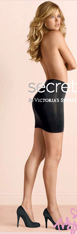victorias secret black shapewear