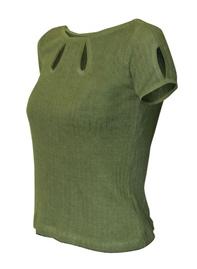 water jewel hemp blouse