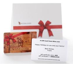 wine.com gift certificate