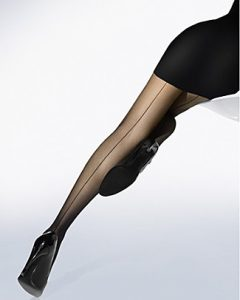 wolford individual 10 backseam hose