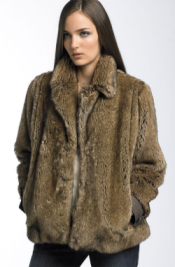 wrett faux fur jacket